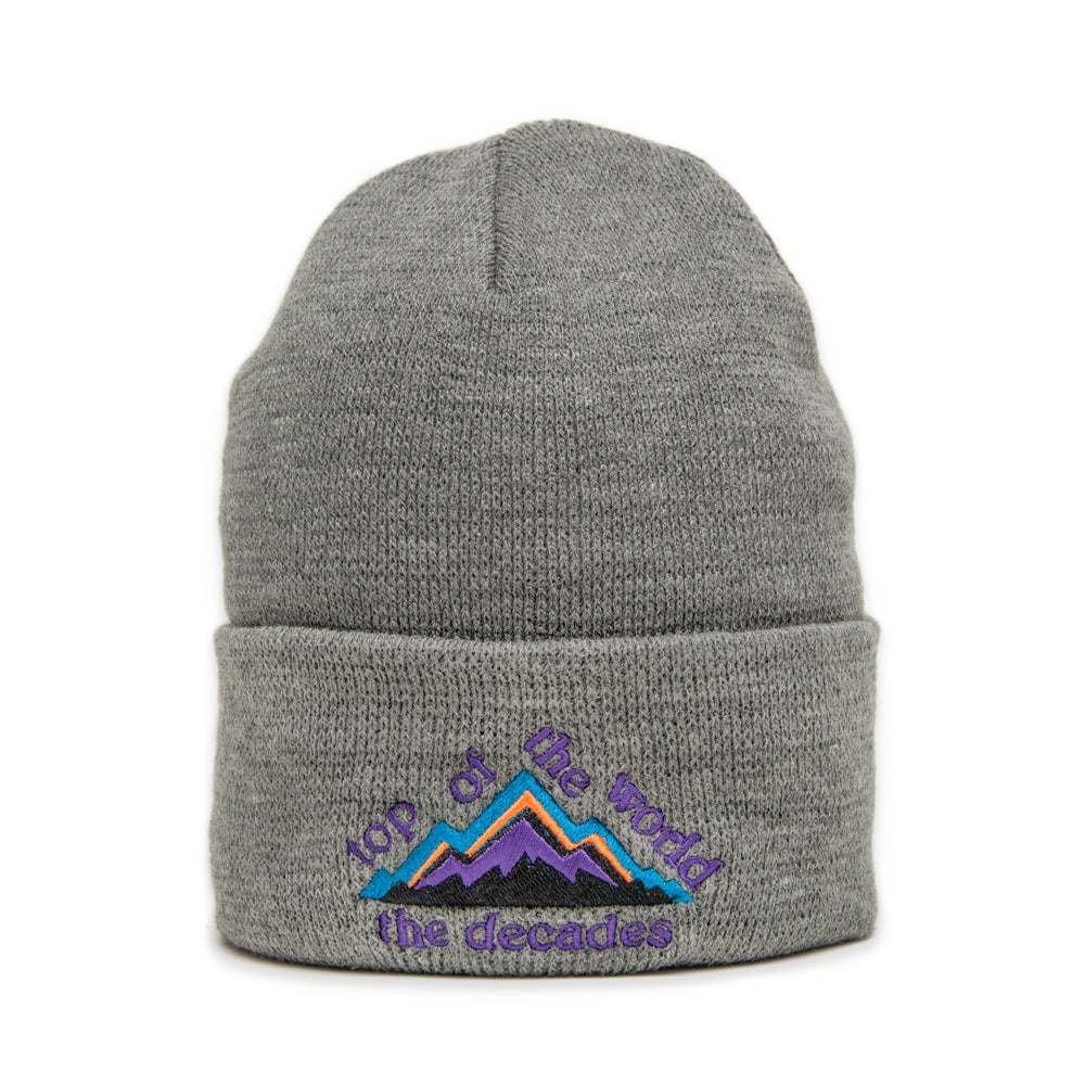 Image of Top Of The World beanie grey