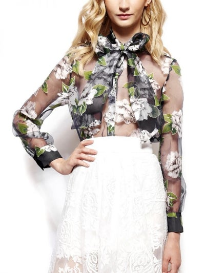 Image of Sheer and Floral