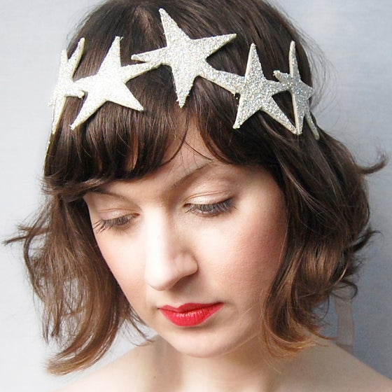 Image of Starlette Crown - Silver