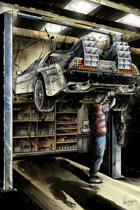 "Image of ""Maintenance"" - Inspired by Back to the Future"
