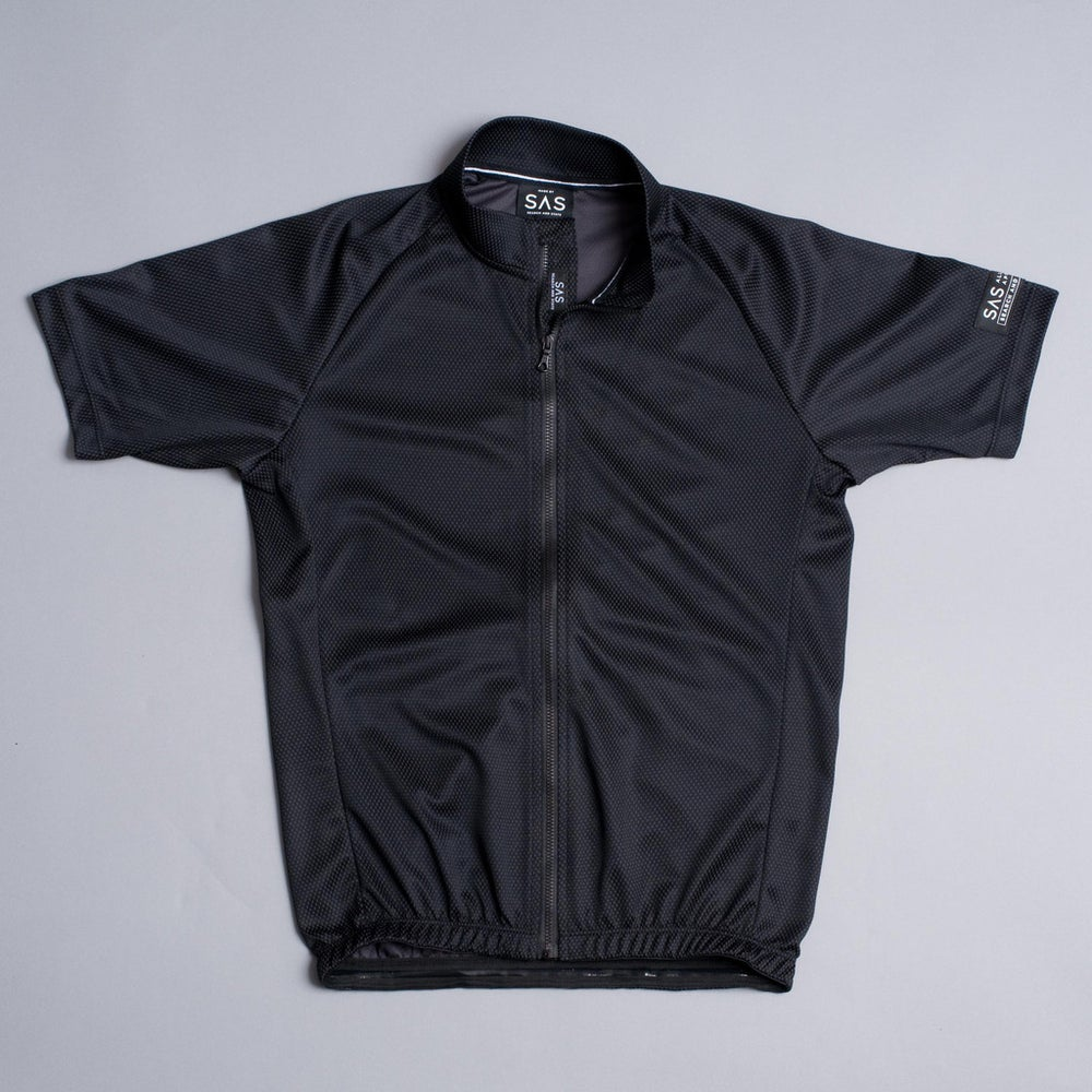 Image of SAS S1-A | RIDING JERSEY | BLACK