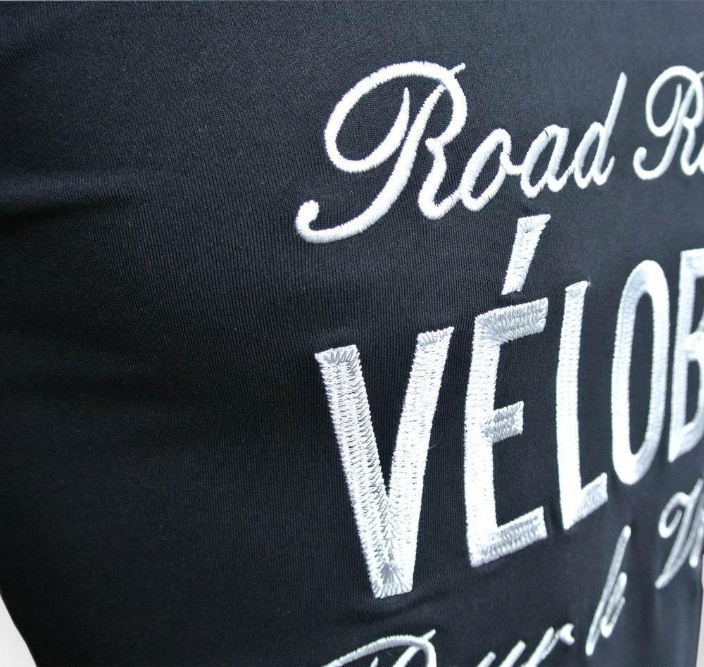 Image of Vélobici 'Road Riding' Classic T - Black