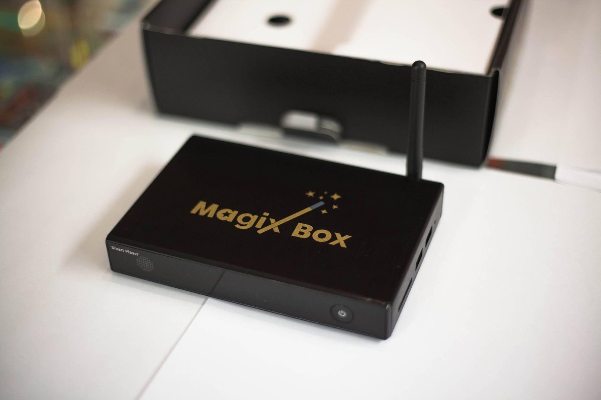 The MagixBox — The Magix Box