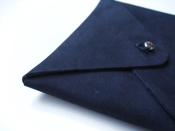 Image of Mt. Fuji cardholder black