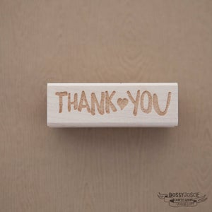Image of Thank You Brush stamp