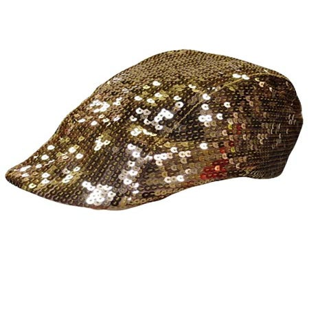 Image of Sequin Newsboy Hat