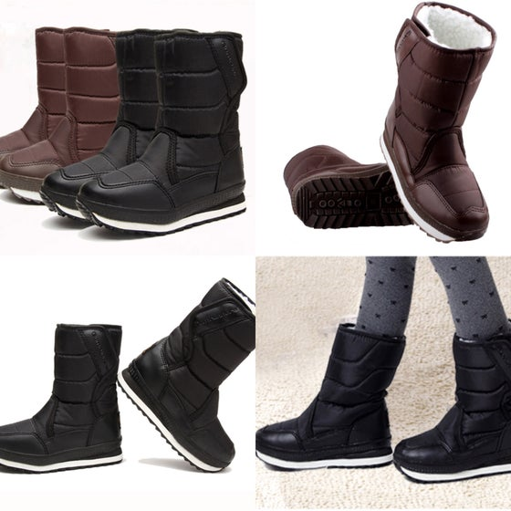Image of Childrens Fur Snow Boots