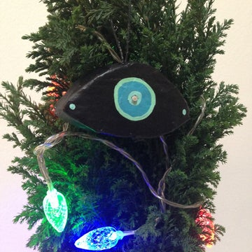Image of Turquoise Third Eye Tree Ornament