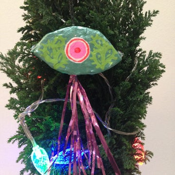 Image of Cactus Third Eye Tree Ornament