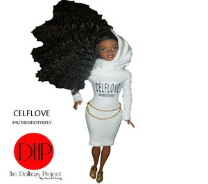 Image of CELFLOVE fashion doll
