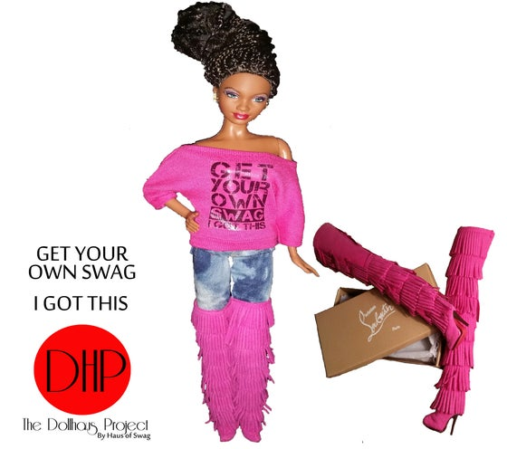 Image of Get Your Own Swag fashion doll