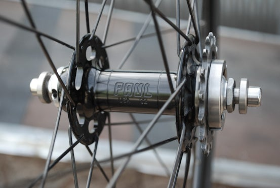 Image of Paul Component High Flange Track Hub - Rear