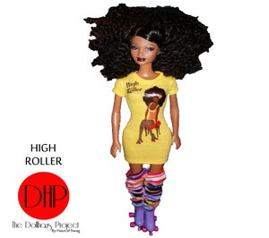 Image of High Roller fashion doll