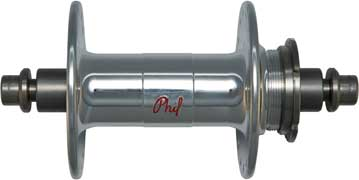 Image of Phil Wood High Flange Track Hub Set