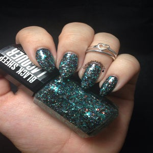 Image of Into the Void - Holographic, Brown & Turquoise Glitterbomb