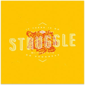 "Image of ""Struggle"" Art Print"