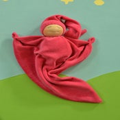 Image of Blanket Doll - Raspberry/ Sunkissed