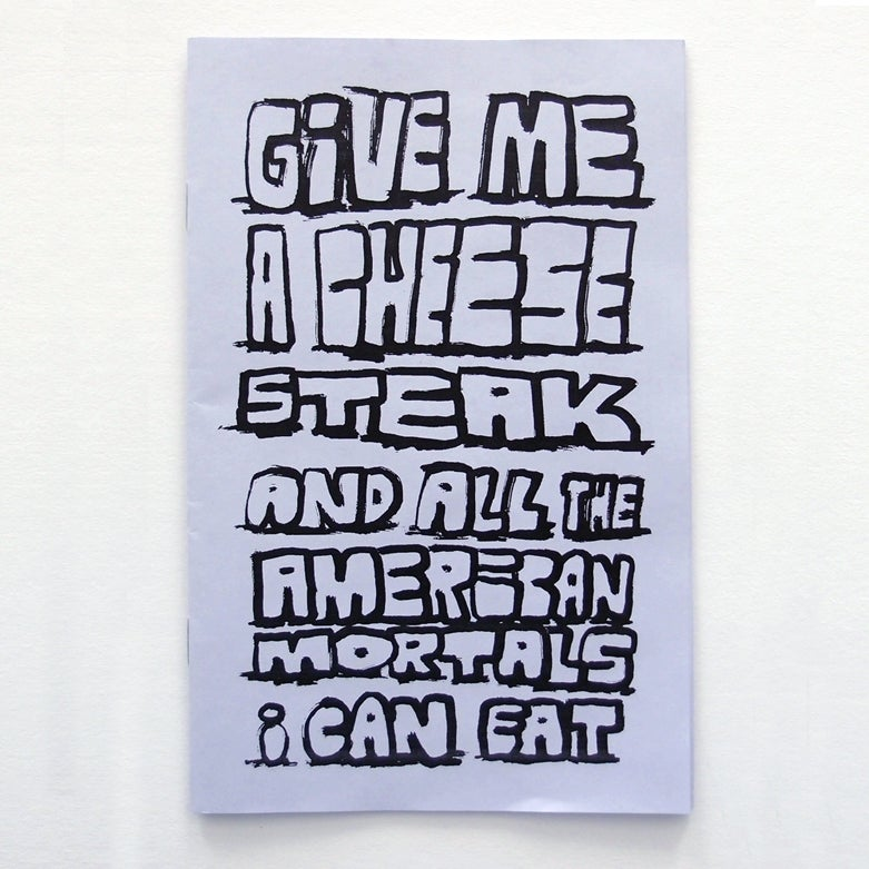 Image of Cheesesteak Zine