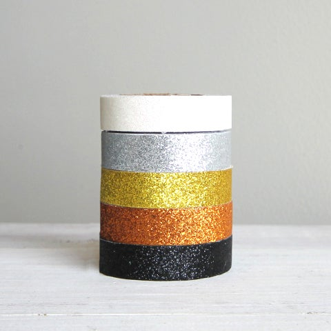 Image of Metallic Glitter Adhesive Tape
