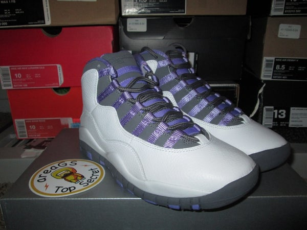 "Air Jordan X (10) Retro WMNS ""Medium Violet"" - areaGS - KIDS SIZE ONLY"
