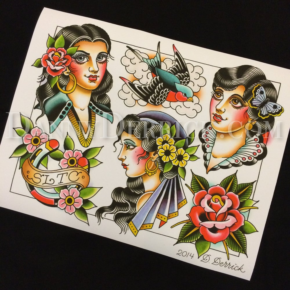 Image of Flash Sheet Print by Danny Derrick