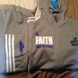 Image of One of one large women track suit
