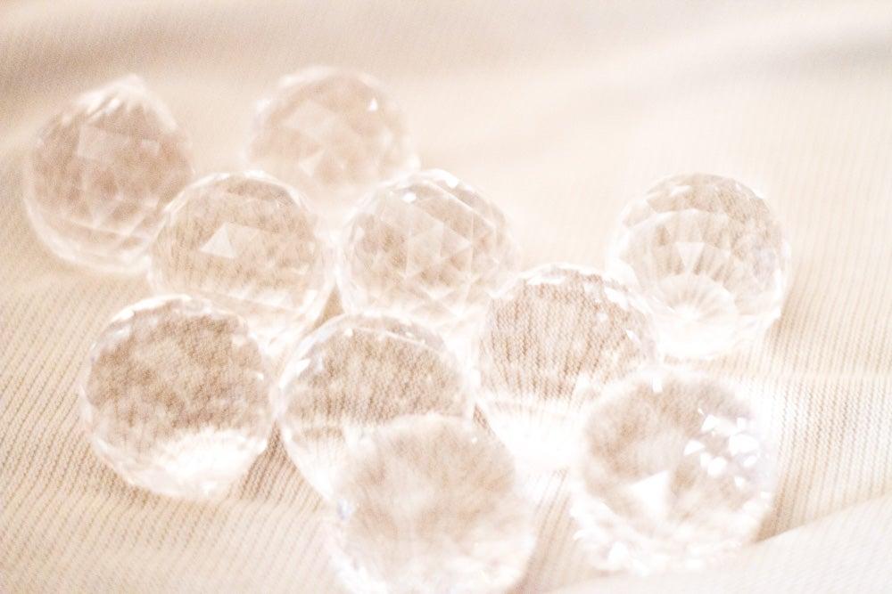 Image of Esfera de Cristal Tallado Swarovski