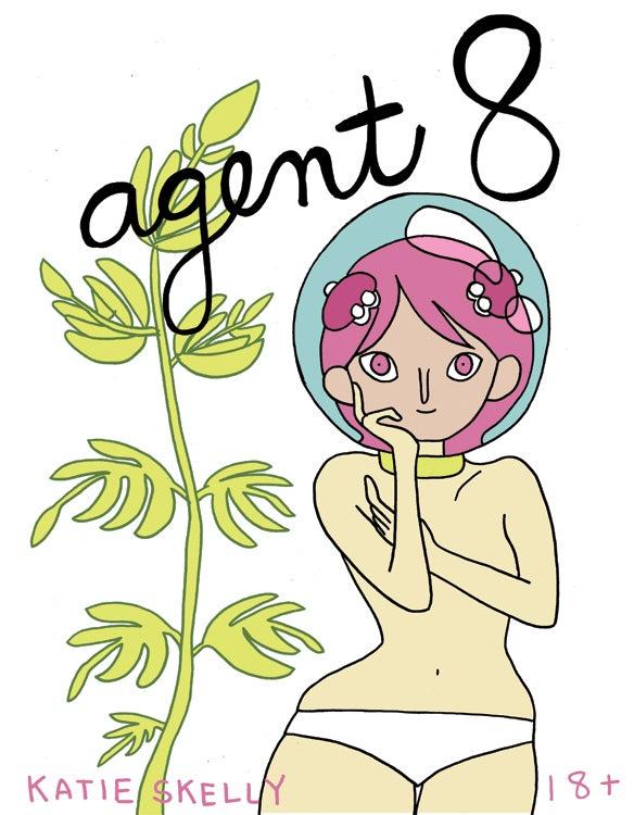 Image of Agent 8 Comic