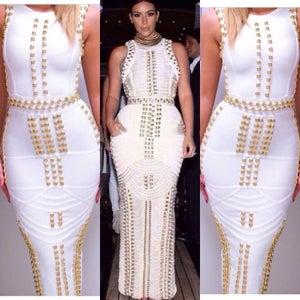 Image of Kardash Long Bandage Dress