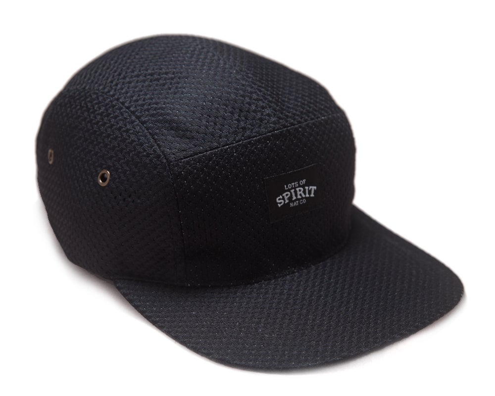 Image of Black Mesh 5 Panel