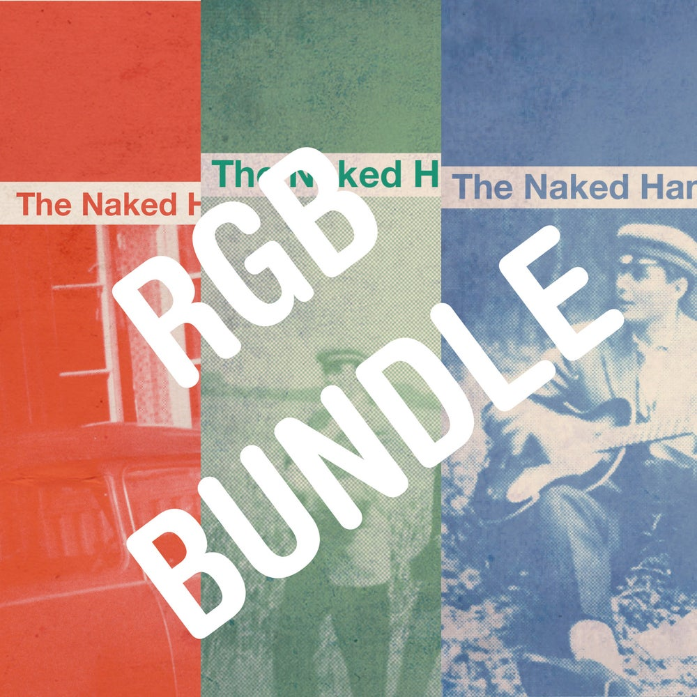 Image of The Naked Hands - RGB Bundle