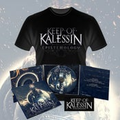 Image of Keep Of Kalessin (Epistemology) Limited Edition CD and T-Shirt Bundle