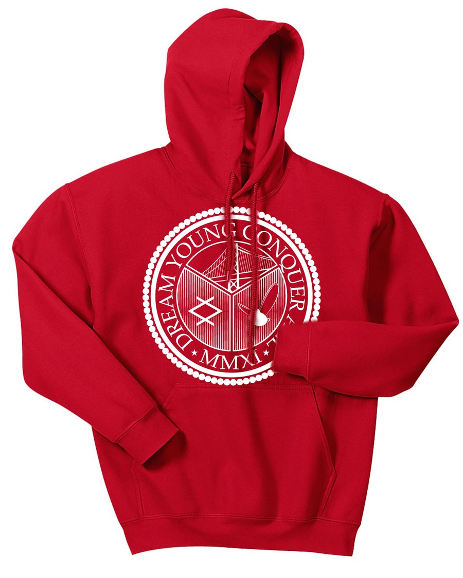 "Image of ""THE SEAL"" CHRISTMAS EDITION RED/HOODY"