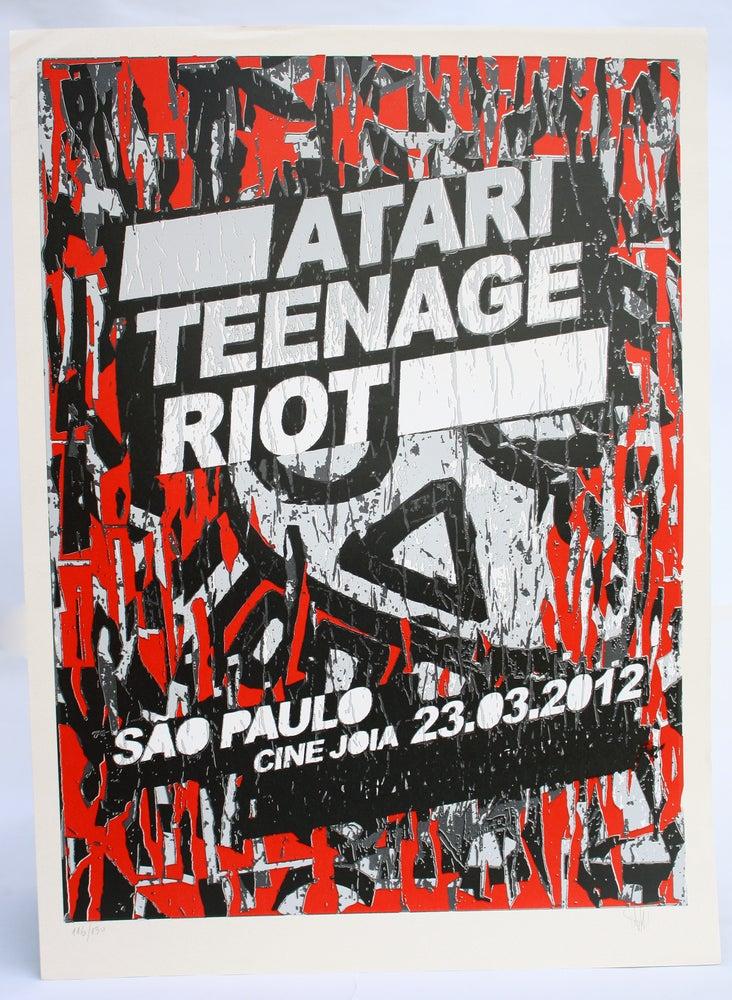 Image of Atari Teenage Riot 48x66cm