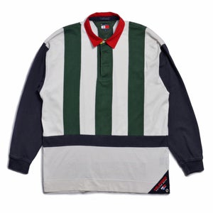 Image of 90s TOMMY HILFIGER SAILING GEAR 045/88 SHIRT