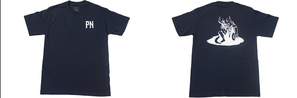 Image of Demonoid Tee Shirt Navy