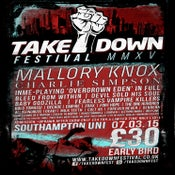Image of Takedown Festival 2015 (DISOUNT TICKETS)