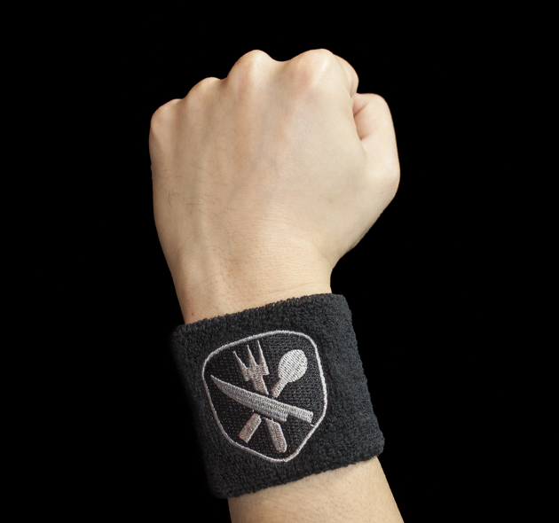 Image of Hunger Crunch Sweatband