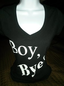 Image of Boy Bye Black Short Sleeve Tee