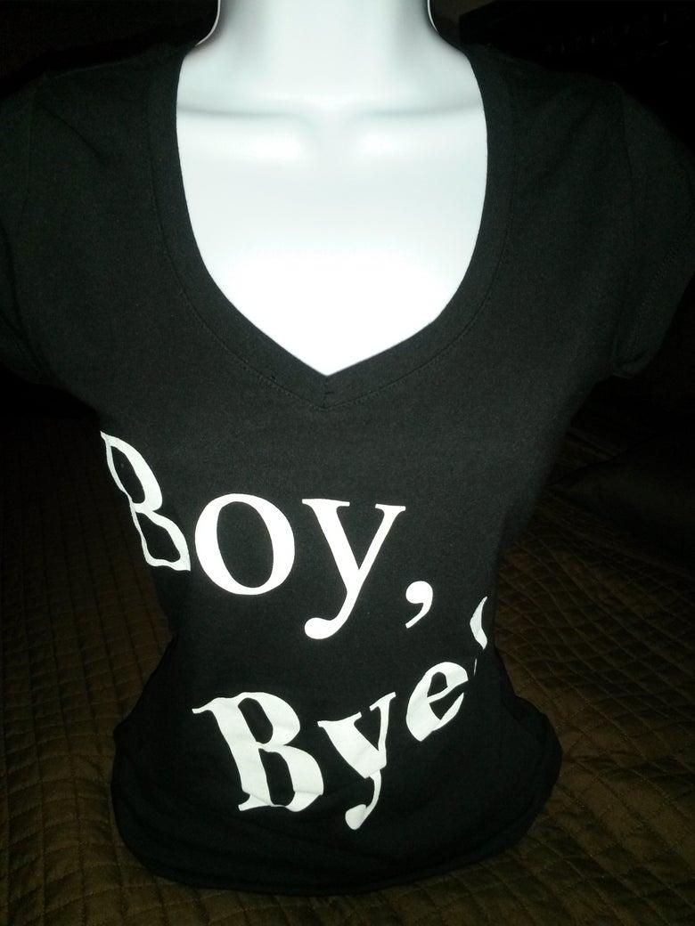 Image of Boy Bye Black Short Sleeve Tee