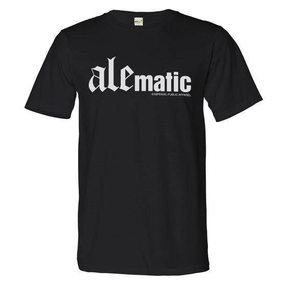 Image of AleMatic Tee (Black/White)