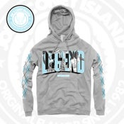 Image of legend UNC - hoodie - sports grey