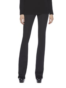 Image of Gucci- black silk wool blend pants (size 6)