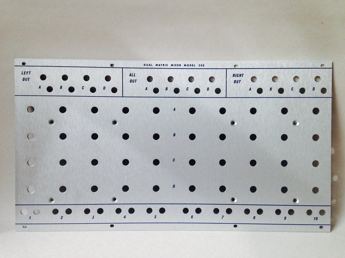 Image of 205 front panel (for DIY kit)