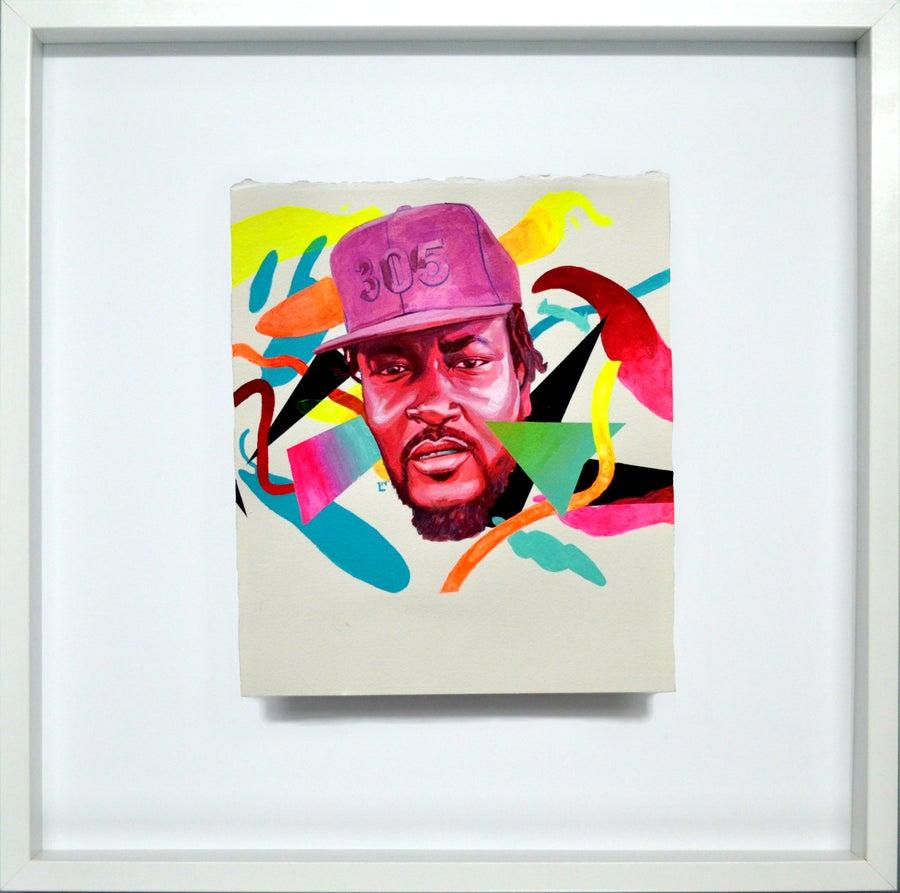 Image of Neon City Show Framed Originals x Art Basel Miami