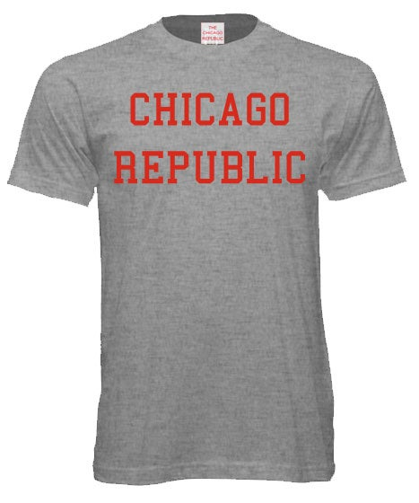 Image of The Chicago Republic logo tee.