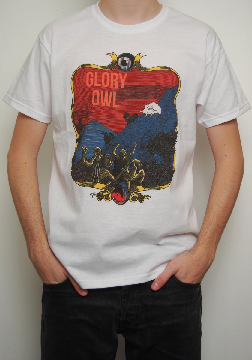 T shirt glory owl glory owl for Big cartel t shirts
