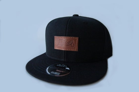 Image of Leather Patch Snapback