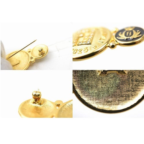 Image of SOLD OUT FENDI ROMA AUTHENTIC VINTAGE LARGE LOGO BROOCH