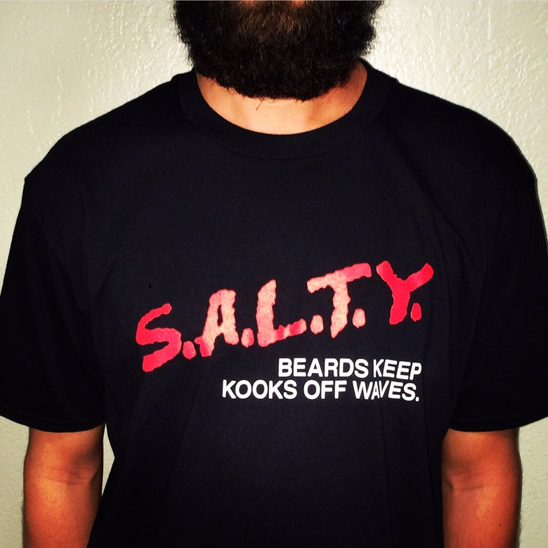 Image of S.A.L.T.Y. Beards   Keep Kooks Off Waves
